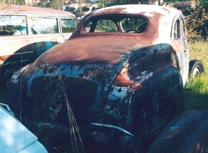 1941 Plymouth coupe Bil-2