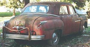 1949 Dodge Coronet 4d