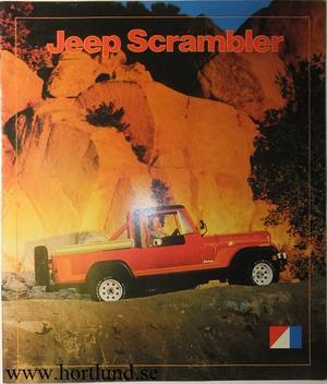 1981 Jeep Scrambler broschyr