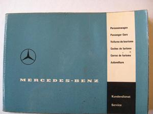 1961 Mercedes-Benz Servicehäfte