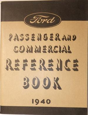 1940 Ford V8 Reference Book