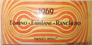1969 Ford Fairlane & Torino & Ranchero Owners Manual