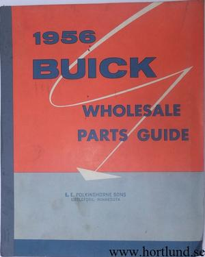 1955 Buick Wholesale Parts Guide
