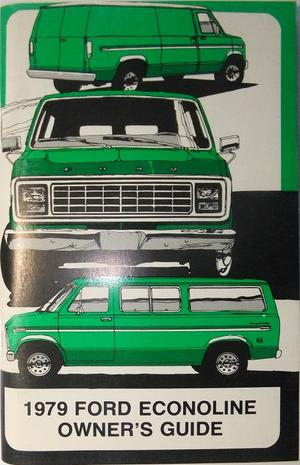 1979 Ford Econoline Van Owners Guide