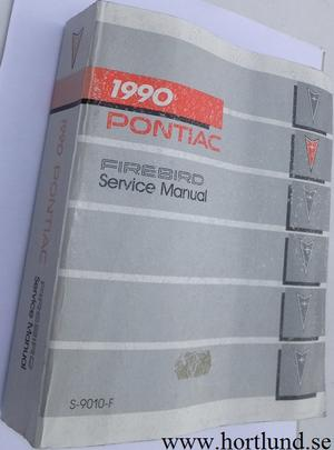1990 Pontiac Firebird Service Manual