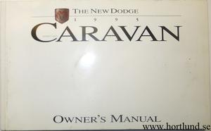 1995 Dodge Caravan Owner's Manual
