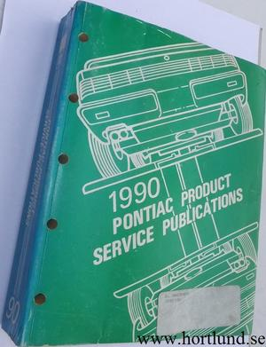 1990 Pontiac Product Service Publications alla modeller