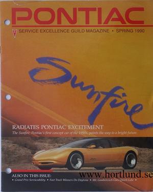 1990 Pontiac Service Excellence Guild Magazine, Spring 1990