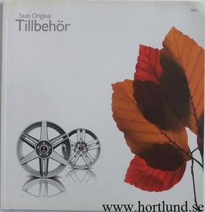 2009 SAAB Tillbehör katalog med prislista