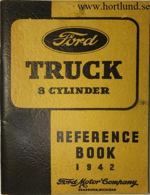 1942 Ford Truck V8 Reference Book