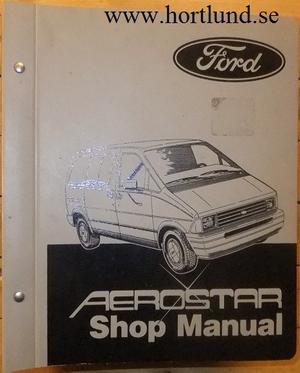 1986 Ford Aerostar Shop Manual