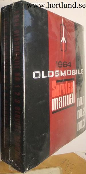 1964 Oldsmobile Service Manual Set