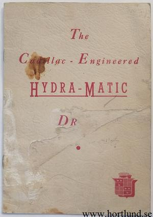 1941 Cadillac Engineered Hydra-Matic Drive