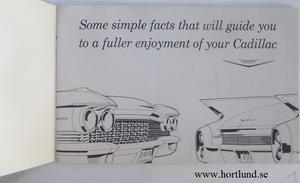 1960 Cadillac Owners Manual original