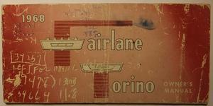 1968 Ford Fairlane & Torino Owners Manual