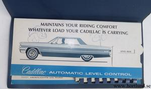 1965 Cadillac Automatic level control and color selections