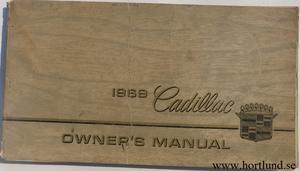 1969 Cadillac Owners Manual