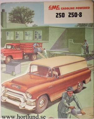 1955 GMC 250 250-8 Truck Broschyr