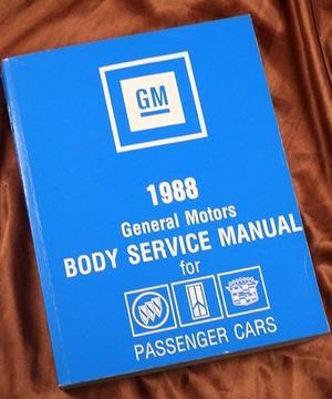 1988 GM Body Service Manual