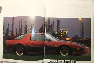 1987 Pontiac broschyr alla modeller