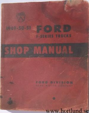 1949-1951 Ford Truck Shop Manual