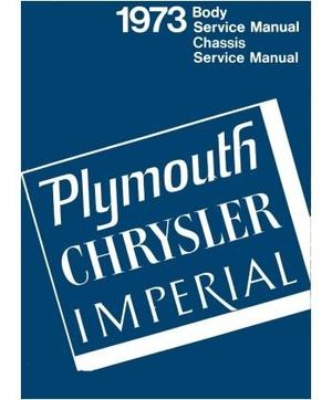 1973 Plymouth & Chrysler och Imperial Service Manual