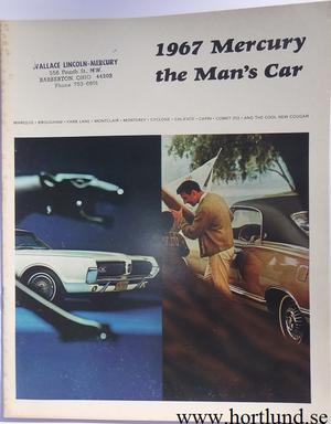 1967 Mercury alla mod broschyr