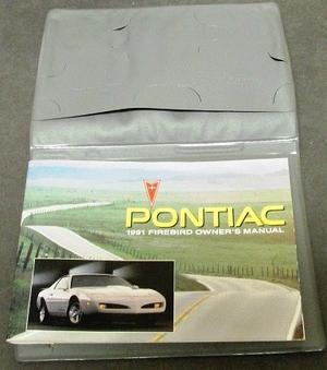 1991 Pontiac Firebird Owners Manual