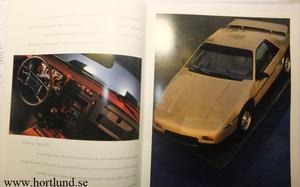 1987 Pontiac broschyr Lyx alla modeller