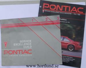 1991 Pontiac Awards Ctalogue