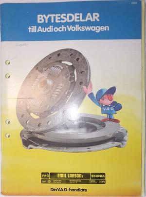 1950 - 1980 Volkswagen och Audi Bytesdelar