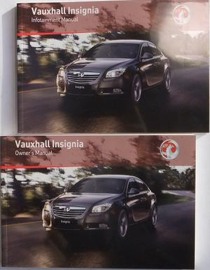 2011 Vauxhall Insignia Instruktionsbok