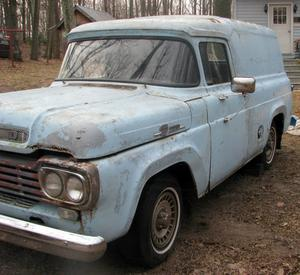 1959 Ford F-100 Panel Truck