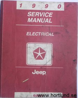 1990 Jeep Service Manual Electrical