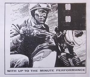 1966 Triumph broschyr