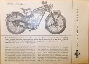 1946 Jawa 100 Robot