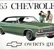 1965 Chevrolet Full Size Owners Guide