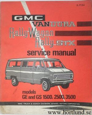 1971 GMC Van Service Manual