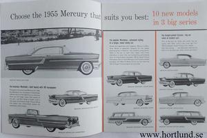 1955 Mercury Quick Facts.. broschyr