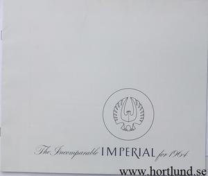 1964 Imperial Broschyr 11-63