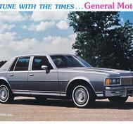 1977 GM Modeller Broschyr