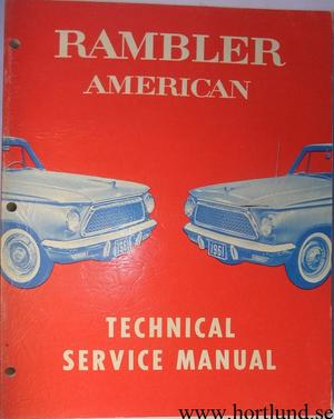 1961 Rambler American Technical Service Manual
