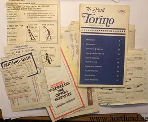 1976 Ford Torino Owners Manual