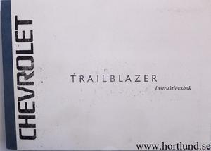 2003 Chevrolet Trailblazer Instruktionsbok svensk