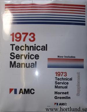 1973 AMC Technical Service Manual