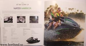 2016 Kawasaki Jet Ski broschyr