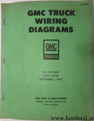 1968 GMC Truck Wiring Diagrams