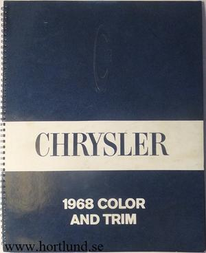 1968 Chrysler Color and Trim