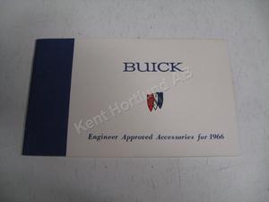 1966 Buick tillbehörsbroschyr