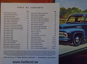 1953 Ford Truck broschyr